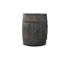 Medium Wooden Barrel