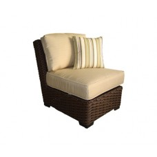 Wicker Patio Chair with Cushion