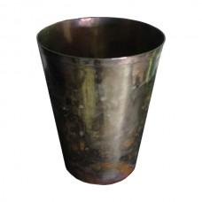 Antique Gold Metal Vase