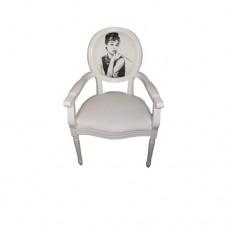 White Audrey Hepburn Chair