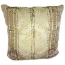 Beige Striped Pillows