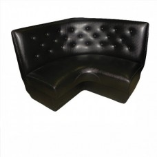 Tufted Leather Corner Banquet