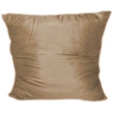 Brown Satin Pillows
