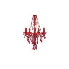 Medium Red Chandelier