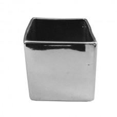 Chrome Vase