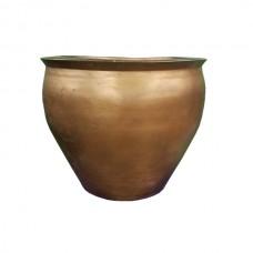 Copper Colored Flower Pot