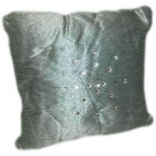 Gray Pillows with Bling