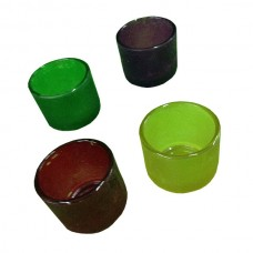 Large Colored Votive Holders