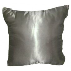 Metallic Silver Pillows