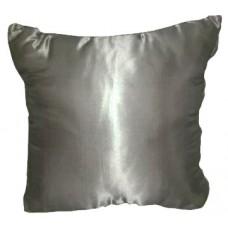 Metallic Silver Pillows