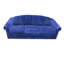 Purple Crush Rolled Arm Sofa