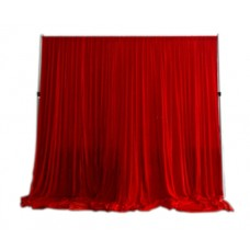 Red Velour Drape
