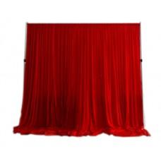 Red Velour Drape