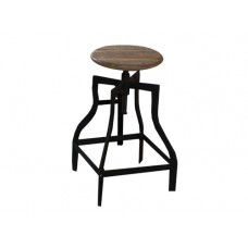 Rustic Swivel Stool
