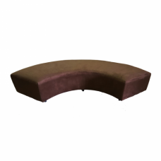 Chocolate Suede C Bench
