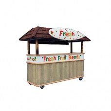 Fresh Fruit Smoothie Cart