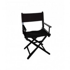 Black Wood Director Chair