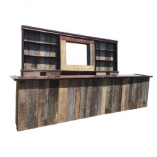 Salvaged Wood Bar