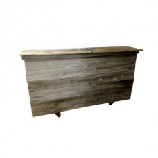 Portable Salvaged Wood Bar