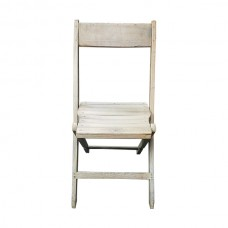 Rustic Wooden Folding Chair