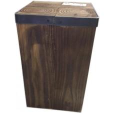 Short Wooden Pedestal