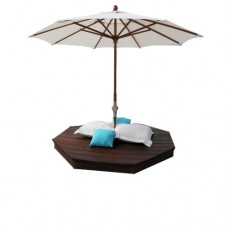 Palato Bed & Umbrella