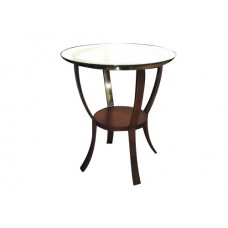 Small Metal & Glass Table