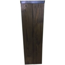 Tall Wooden Pedestal