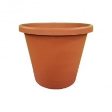 Terracotta Colored Flower Pot