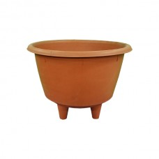 Terracotta Flower Pot with Feet