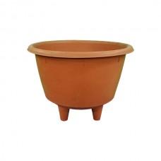 Terracotta Flower Pot with Feet