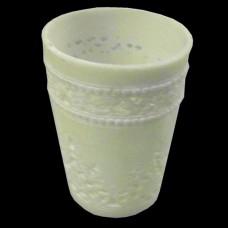 White Ceramic Votive Holder