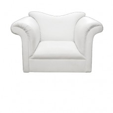 White Roll Chair