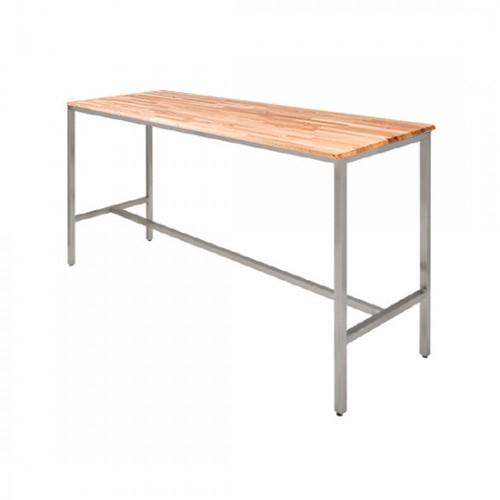 Wood Communal Table Furniture Rental
